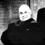 Adult actor Jackie Coogan as Uncle Fester (The Addams Family, 1966)