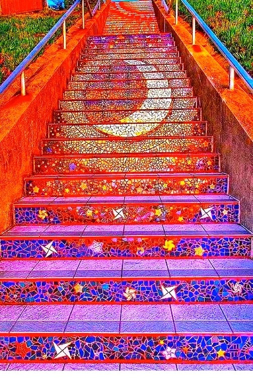 Gorgeous 16th Ave Tiled Steps Project – San Francisco