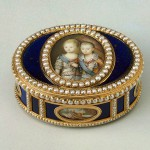 Royal family, empresses, kings and snuff personal favorite of Catherine, snuff boxes of gold, with diamonds, pearls and precious stones, jewelry masterpieces