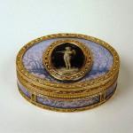 Snuffbox with Cupid. France 1781/1782