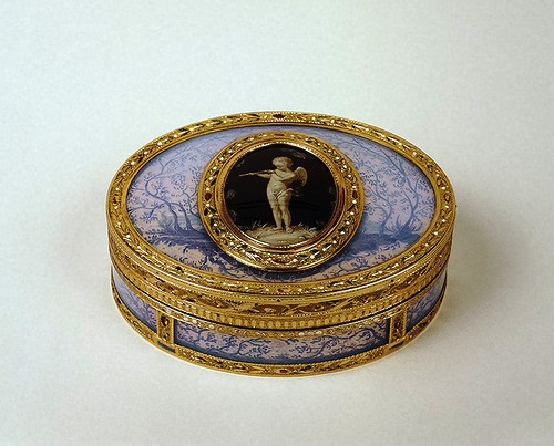 Snuffbox with Cupid. France 1781/1782