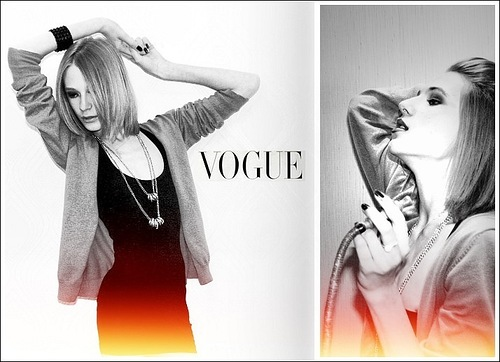 Vogue model Stanislav Fedyanin