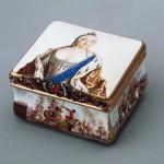 Snuff box with a portrait of the Empress Elizabeth Germany around 1750