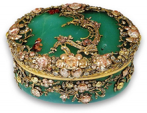 Beautiful Snuffboxes from Hermitage, Russia