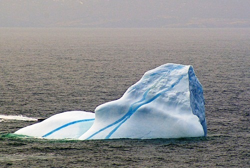 Large piece of Striped iceberg