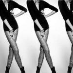 Long-legged androgynous model Stanislav Fedyanin