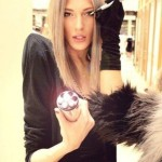 Beautiful androgynous model Stanislav Fedyanin