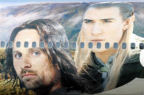 Airbrushed airplanes beautiful graffiti