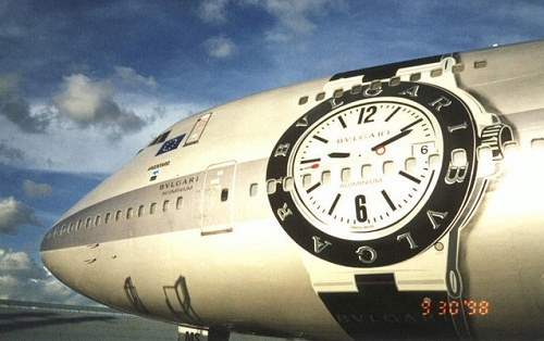 Large scale painting. Aircraft graffiti