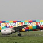 Colorful Aircraft graffiti