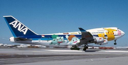Cartoon characters in Aircraft graffiti