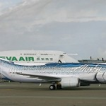 Sharks painted on Alaska Aircraft