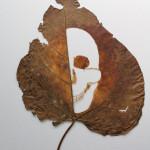 Leaf cut art by Spanish self-taught artist Lorenzo Duran