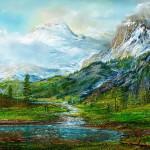 Picturesque landscapes by German Fine Artist Andre Kosslick