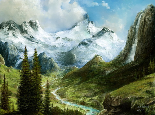 What is better than mountains – only mountains