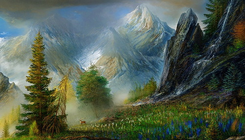 mountains by Andre Kosslick