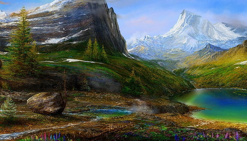 The difference between saints, forget-me-nots, and mountains, have to, have to, have to at a time. Gertrude Stein