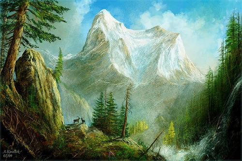 Magnificent view. Beauty of mountains