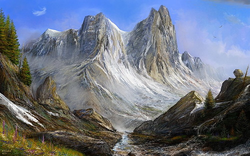 It's wonderful to climb the liquid mountains of the sky. Behind me and before me is God and I have no fears. Helen Keller