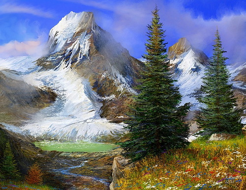 The violets in the mountains have broken the rocks. Tennessee Williams