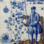 Traditional Portuguese Azulejo art