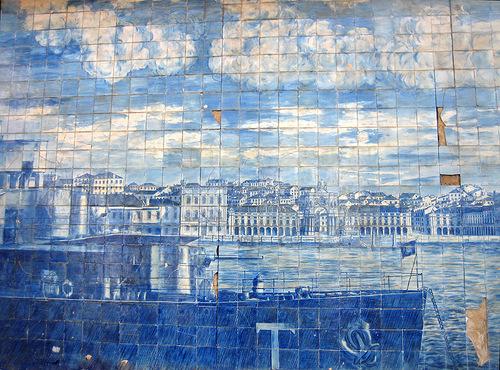 Picturesque Azulejo art