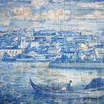 Panoramic images of Azulejo art
