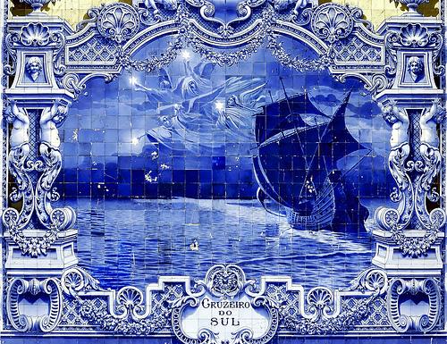 Beautiful and unique Azulejo art