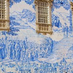 By the mid-nineteenth century thanks to mass industrial production, Azulejos became a national treasure