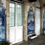 Interior decorated with Azulejo tiles