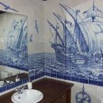 Sea theme in Azulejo art