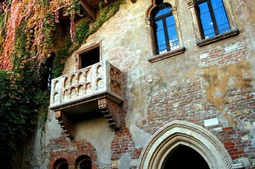Balcony of Juliet in Verona