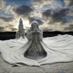 Sand sculptures all over the world