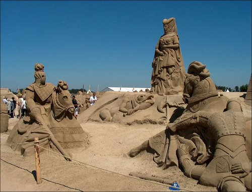 Beautiful Sand sculptures made all over the world