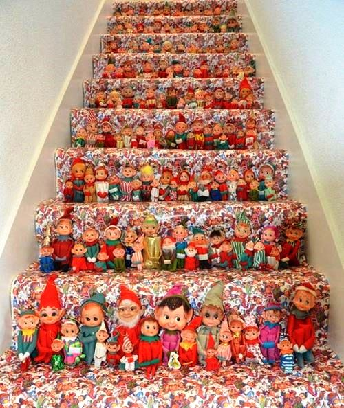 Beautiful doll-theme staitcase