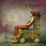 Fantasy worlds by Vladimir Fedotko