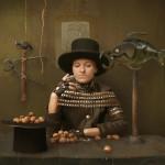 Steam-punk lady. Beautiful fantasy world in photoart of Russian photographer Vladimir Fedotko