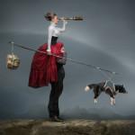 Looking forward. Beautiful fantasy world in photoart of Russian photographer Vladimir Fedotko