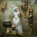 Samovar. Beautiful fantasy world in photoart of Russian photographer Vladimir Fedotko
