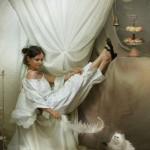 White inspiration. Beautiful fantasy world in photoart of Russian photographer Vladimir Fedotko