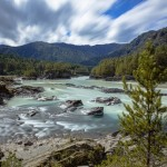 Rivers and mountains of Altai, photographer Vadim Makhorov