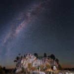 Amazing view of Starry night of Altai by Russian photographer Vadim Makhorov