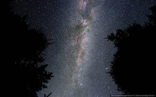 Magic starry night of Altai by Russian photographer Vadim Makhorov