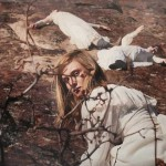 Oil on canvas painting by Yigal Ozeri