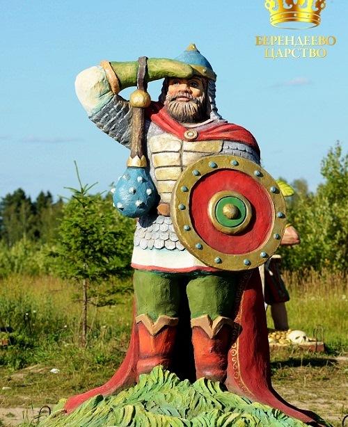 Folk character of Russian tales