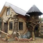 "Beautiful sculpture in ""Berendeevo kingdom"""
