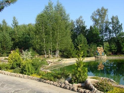 View of Berendeevo kingdom, Moscow region