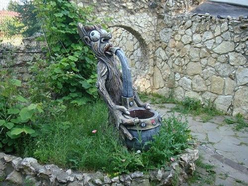 "Characters of Russian tales in sculpture. ""Berendeevo kingdom"""