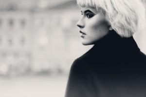 Nuar. Black and white female portraits by Moscow based photographer Nina Chu