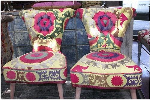 Two chairs. Designers Hoda Baroudi & Maria Hibri